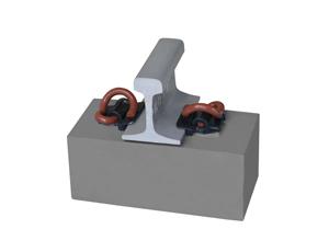 E型弹条扣件系统