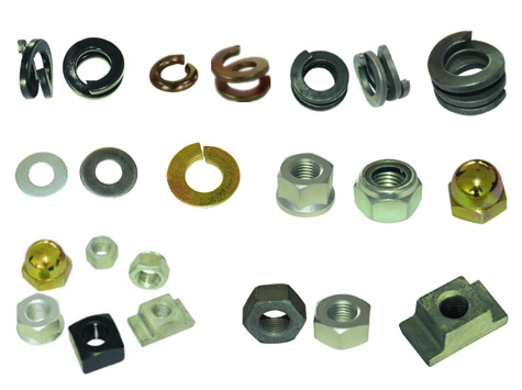 Rail Nut and Washer